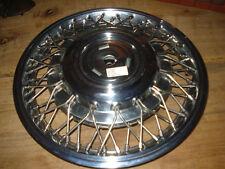 "GM  14"" oldsmobile Cutlass Fwd Wire hubcap part # 14102409 nib 88 89 1990  1991"