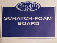 Scratch Foam Boards by Scratch Art-Easy Printmaking-Texture Plates for Art Clay