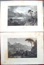 1830 Views Lochs Scottish Loch Awe And Loch Maree