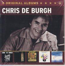 Chris De Burgh / Spanish Train, Into the Light, Very Best of u.a. (5 CDs, NEU!)