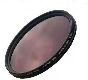 FOURTH EYE 67mm Fader IR Filter 550nm - 750nm Adjustable Infrared Filter 67 mm