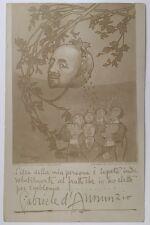 1903 GABRIELE D'ANNUNZIO illustratore Majani Nasica il fuoco epifania bologna