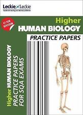 CfE Higher Human Biology Practice Papers for SQA Exams by Stuart White, John...