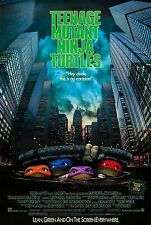 TEENAGE MUTANT NINJA TURTLES  (1990) ORIGINAL MOVIE POSTER  -  ROLLED