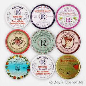 """2 Rosebud Lèvre Baume Boite (0.8 OZ) """" Choisissez Votre 2 Parfumé """" Joy's"""