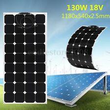 NEW SUNPOWER ELFELAND 130WATT 18V 130W SOLAR PANEL SOLARPANEL SEMI-FLEXIBLE 1.5M