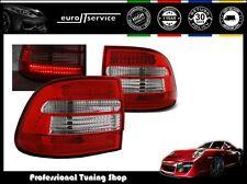 FEUX ARRIERE ENSEMBLE LDPO01 PORSCHE CAYENNE 2002 2003 2004 2005 2006 RED LED