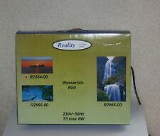 Wandleuchte Wandlampe Lampe Wasserfall Bild Sparlampe