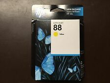 Genuine HP 88 Yellow InkJet Cartridge C9388AN Exp 08/2012 - Original Box