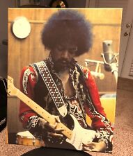 Jimi Hendrix picture playing a USA Fender Stratocaster