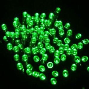 100-200LED Solar Powered String Fairy Lights Garden Wedding Party Xmas Decor