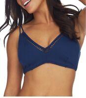 Azura INK Malibu Bralette Underwire Bikini Swim Top, US 12 DD-E