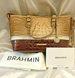 Brahmin Mini Asher Honeycomb Leroy N70 1472 00489 MSRP $315