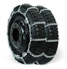 Grizzlar GSL-4821CAM Alloy V-Bar Tire Chains Ladder SUV 215/75-17.5 225/70-19.5