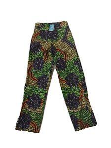Women High Leg Pants Trousers / Ankara African
