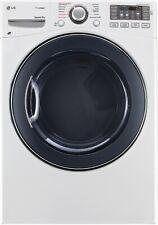 LG SteamDryer Series DLGX3571W 27 Inch Gas Dryer with TrueSteam™ Technology