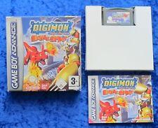 Digimon Battle Spirit, Nintendo GameBoy Advance Spiel, OVP Anleitung