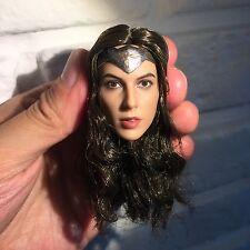 █ Custom Gal Gadot 1/6 Head Sculpt for Hottoys Female Wonder Woman Body █