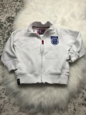 England Football  Football Soccer Sweatshirt Jacket Boy X Small - Small 5/6 B8