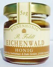 Eichenwald Honig 100% Bienenhonig Spanien Premiumqualität  50g Glas flüssig
