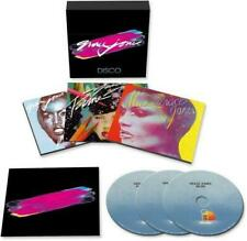 GRACE JONES ‎– DISCO 3CD BOX SET (NEW/SEALED) Inc Muse Fame & Porfolio