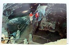 Tennessee TN Bristol Virginia VA Caverns Underground River Postcard Old Vintage