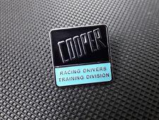 Mini Cooper S Classic Racing Drivers Division Enamel Pin Badge RARE BMC mk1 MPI