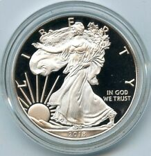 2018 American Eagle One Ounce Silver Proof Coin - 1 oz Bullion US Mint - AQ991
