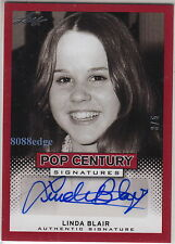 "2013 LEAF POP CENTURY AUTO: LINDA BLAIR #3/5 AUTOGRAPH ""THE EXORCIST"" PLAYBOY"