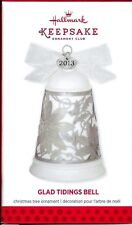 2013 Hallmark Glad Tidings Bell Koc Keepsake Ornament Club New