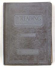 Vintage Book Reading Full Fashioned Knitting Machine Parts Catalog 1929
