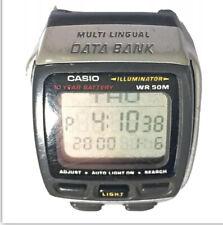 Casio Multi Lingual Data Bank 13 Languages Vintage Quartz Digital Watch DB 37H