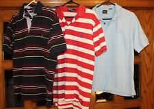 Lot of 3 Ralph Lauren Polo Golf Izod Tommy Shirts Men's Medium Excellent EUC