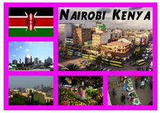 Nairobi, Kenya, Africa - Negozio di souvenir novità Magnete del frigorifero -