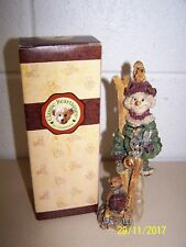 """Vintage 1997 Classic Beartiques """"Snow Bound Snowman"""" by Christhomas Christmas"""