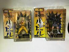 Kill Bill Action Figures 2004 NECA Reel Toys The Bride & Go-Go NIB