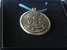 """Cernunnos code dr81 Made From English Pewter On 18"""" Blue Cord Necklace"""