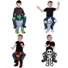 Toddler Piggyback Ride Me Ride On Piggy Back Costume Infant Kids Halloween Party