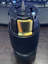 New Hubbell --- Heavy duty cs6364L 50A Twist Lock 125/250V Connector