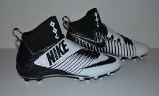 Nike Force Lunarbeast Pro TD Football Cleat - Men's Size 9.5 - White Black