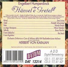 "Engelbert Humperdinck: H""nsel e Gretel (CD, Aug-1995, 2 Discs, Datum)"