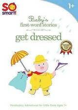 NEW!!! So Smart: Babys First-Word Stories - Get Dressed (DVD, 2013)
