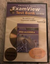 NEW!  PRentice Hall Exam View Test Bank CD-ROM