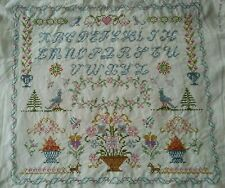 Tableau Broderie ABCDaire