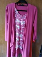 NEW WITH TAGS Nicole Vest Top and Matching Jacket Size Medium (12/14)