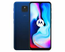Motorola Moto E7 a estrenar - 64GB-Plus 6.2in azul desbloqueado teléfono inteligente 4G