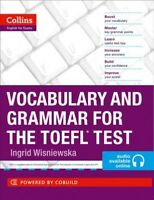 Collins Vocabulary and Grammar for the Toefl Test, Paperback by Wisniewska, I...