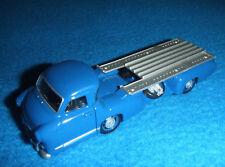 """Mercedes Benz Original Camion de transport pour voitures de course """"Blaues"""