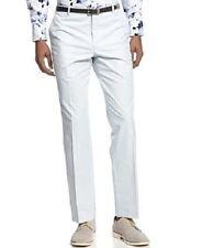 INC International Concepts Pants 30 x 32 Soap Suds Grey Slim Flat Milan Slacks