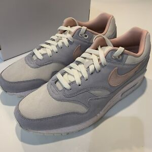 NikeiD By You Air Max 1 Men's Size 10.5 SAIL/PINK/GREY 943756 901